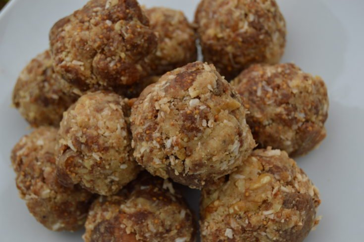 Fig and Walnut Energy Balls