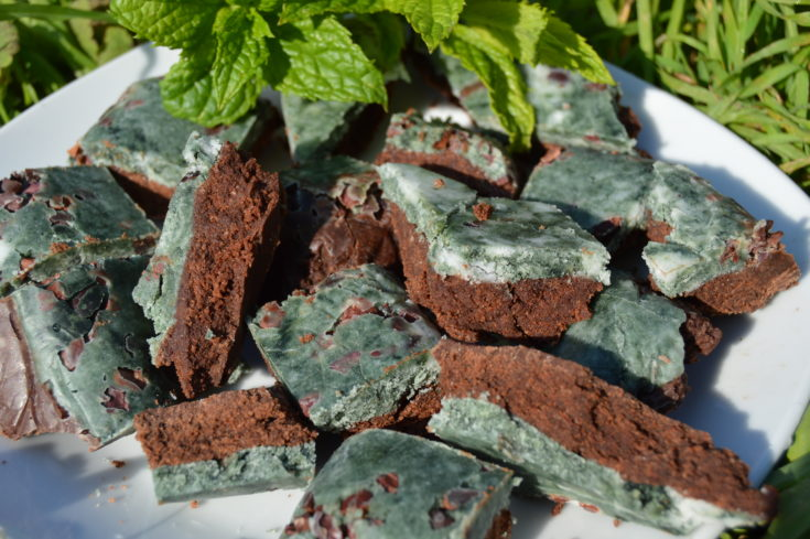 Mint Chocolate Seaweed Fudge
