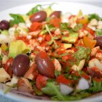 Rocket and Brazil Nut Mediterranean Salad