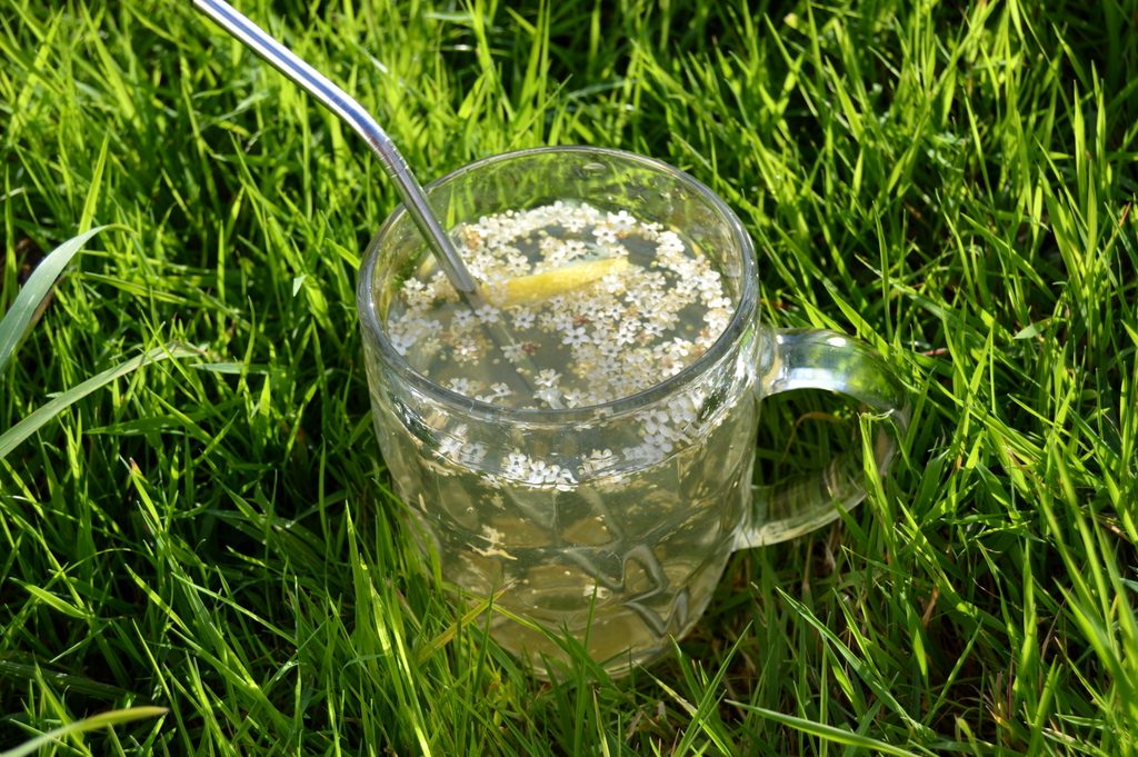 Elderflower Lemon Water
