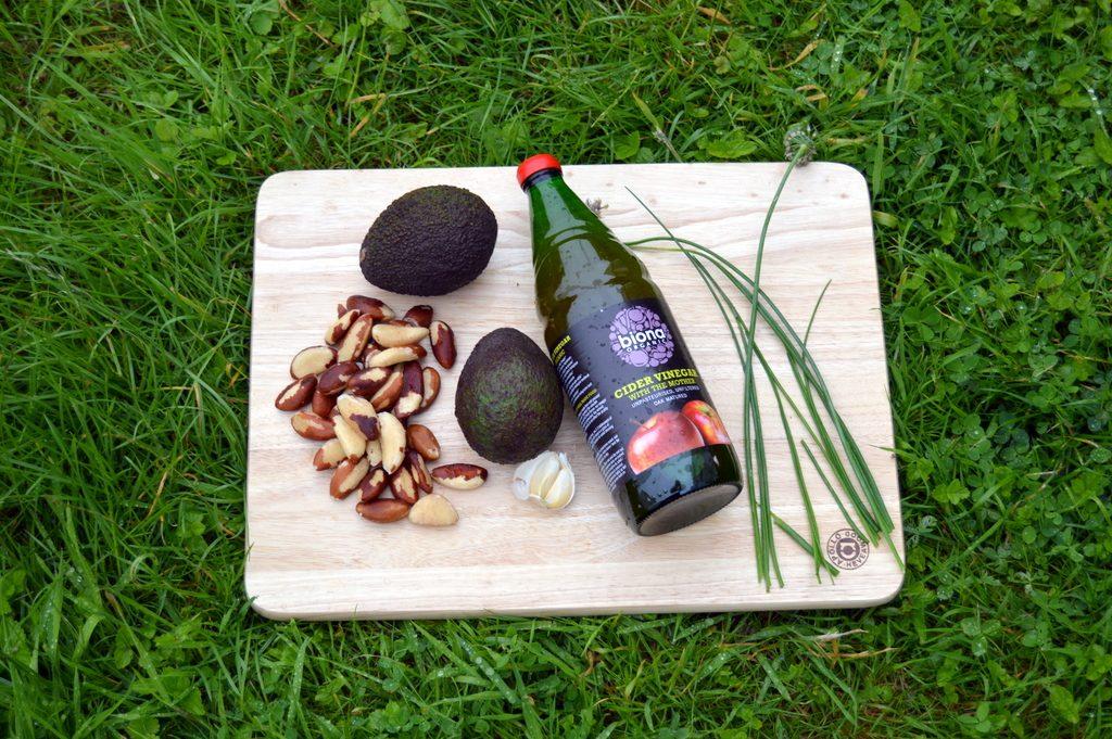 Avozil Mayo - Avocado and Brazil Mayonnaise raw vegan ingredients