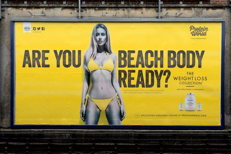 London Mayer bans unhealthy body images
