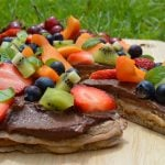 Healthy Dessert Pizza – Dairy and Gluten Free