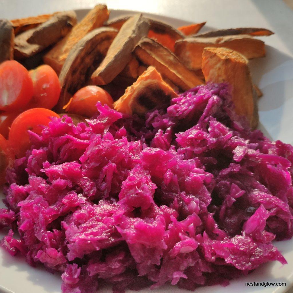 ruby sauerkraut recipe