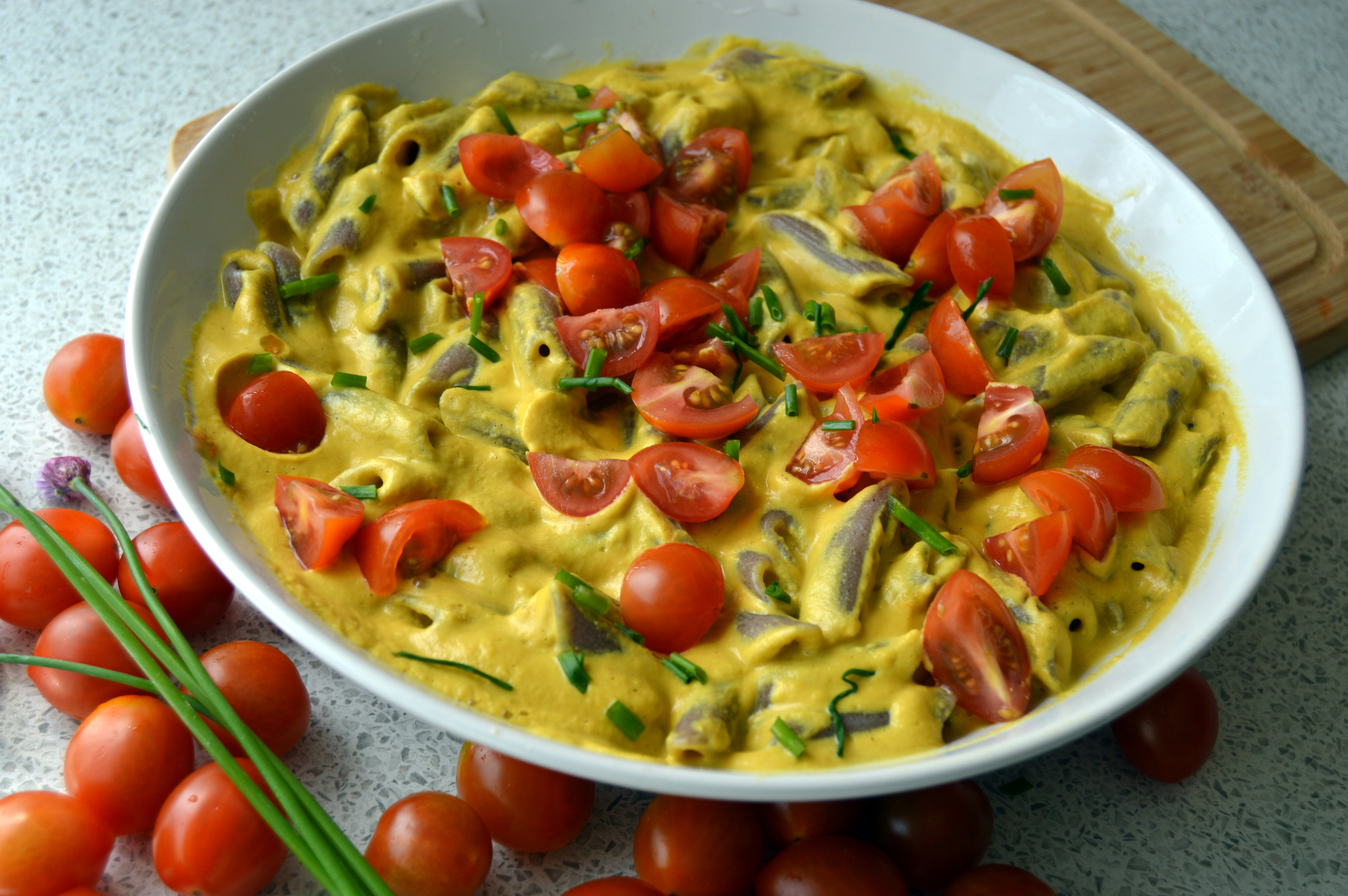 Cheese Sauce For Pasta – Vegan using mainly sunflower seeds