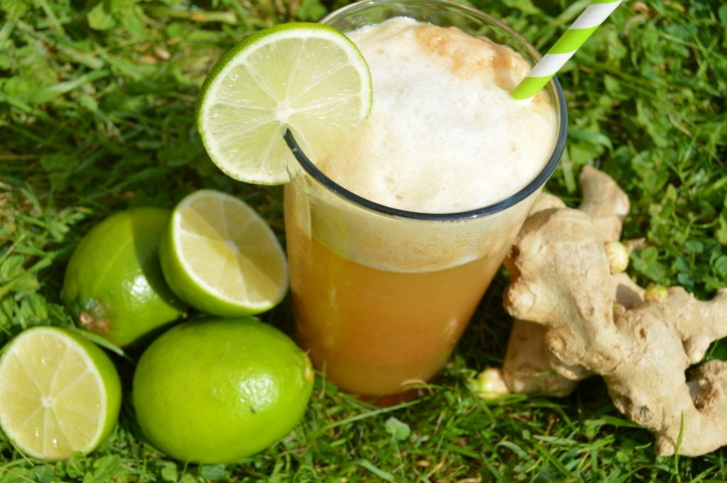 Healthy ginger lime beer recipe