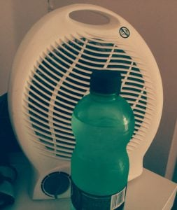 DIY air cooler to stay cool