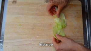 lettuce for crunchy taste