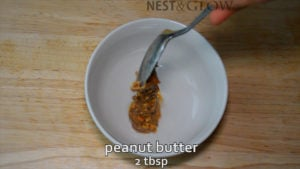 peanut or almond nut butter dip