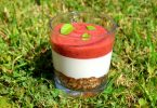 Raw Strawberry Cheesecake