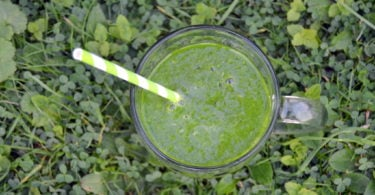 Clear Glowing Skin Green Smoothie Recipe