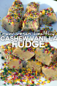 cashew vanilla fudge recipe