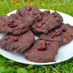 4 Ingredient Chocolate Cranberry Cookies