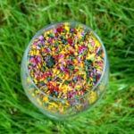 Natural Sprinkles Using Just Fruit and Vegetables for Colour