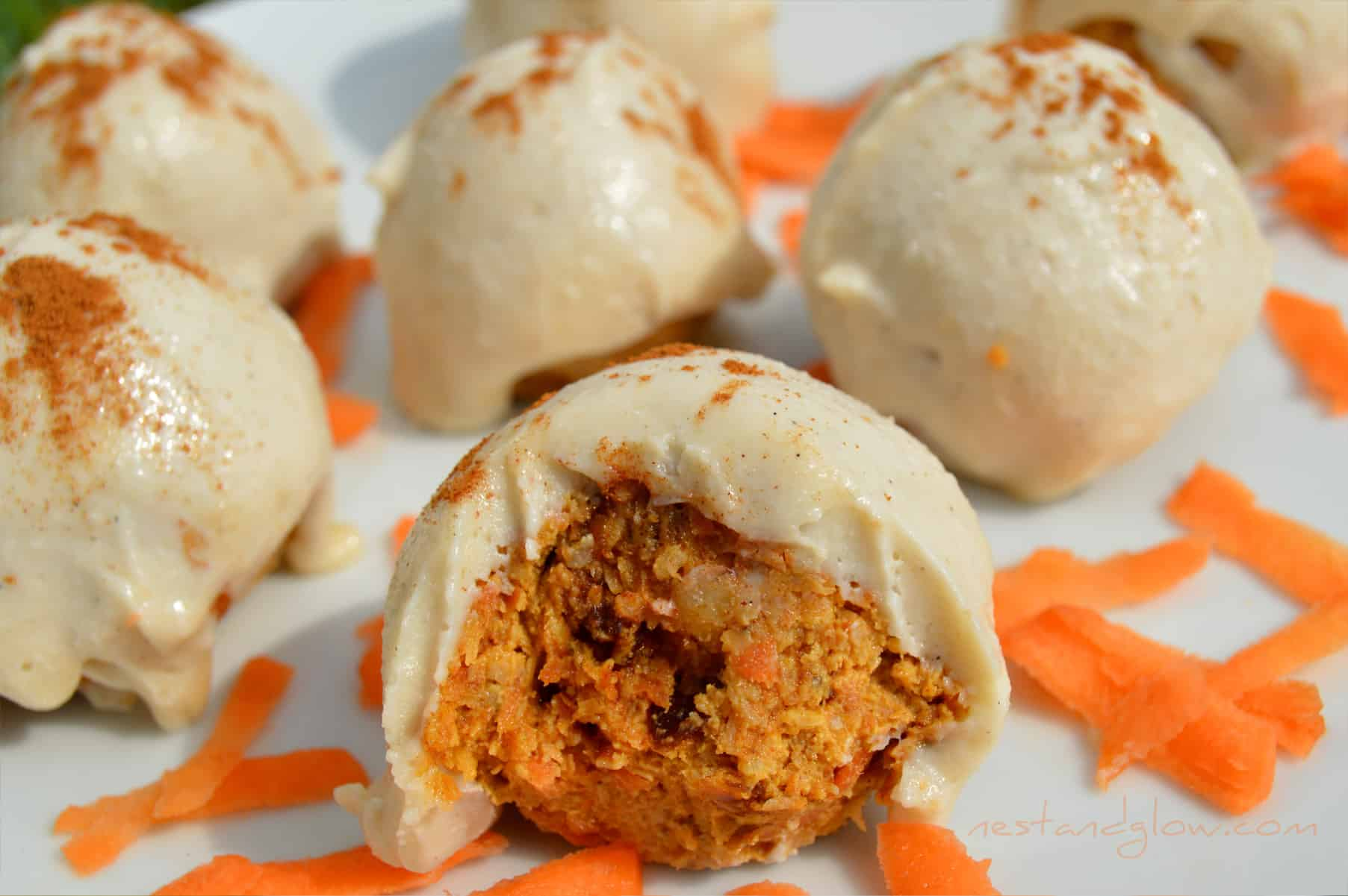 Carrot Cake Truffles Recipe — Dishmaps
