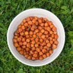 Smokey Roast Chilli Chickpeas (Oil Free)