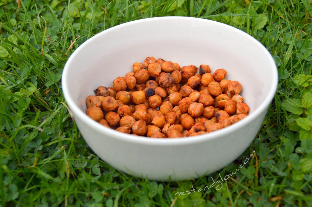 Smokey Roast Chilli Chickpeas In a Bowl