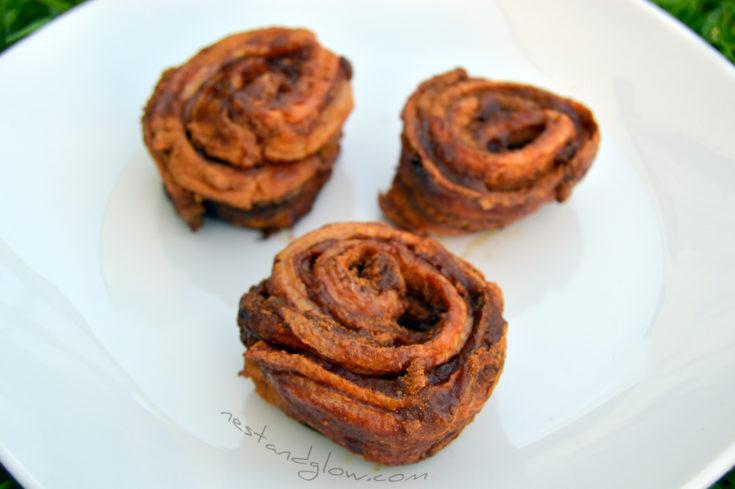 Healthy Flour Free Cinnamon Buns