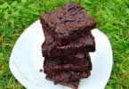 Healthy Chocolate Fudge Mung Bean Brownies Recipe