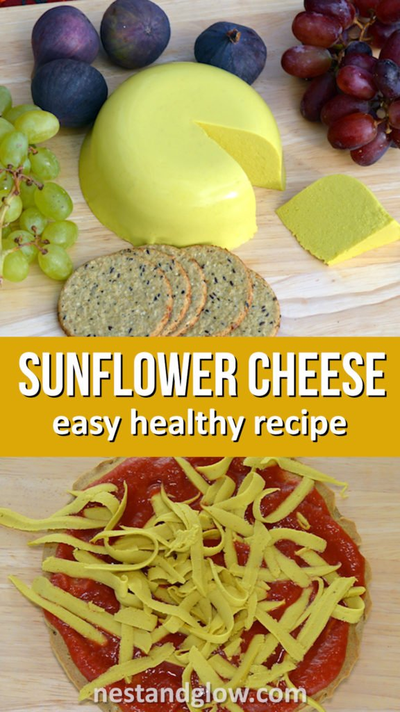 sunflower seed vegan cheese healthy recipe