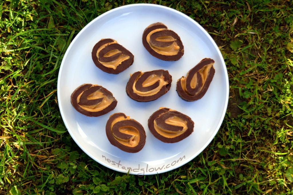 chocolate and peanut butter fudge sugar free