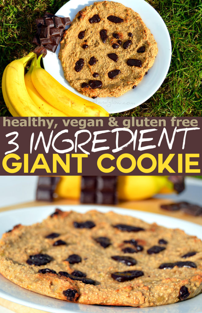 giant healthy easy chocolate chip cookie recipe