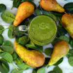 Hemp Protein Pear Spinach Smoothie