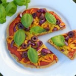 Gluten Free Quinoa Crust Pizza Recipe