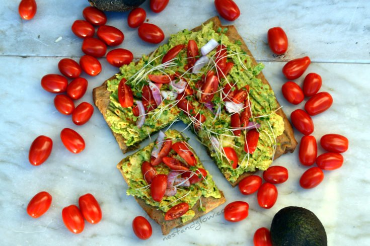 Quinoa Bread With Avocado