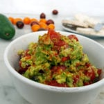 Greatest Guacamole Recipe – Lime, Tomatoes, Chilli & Red Onion