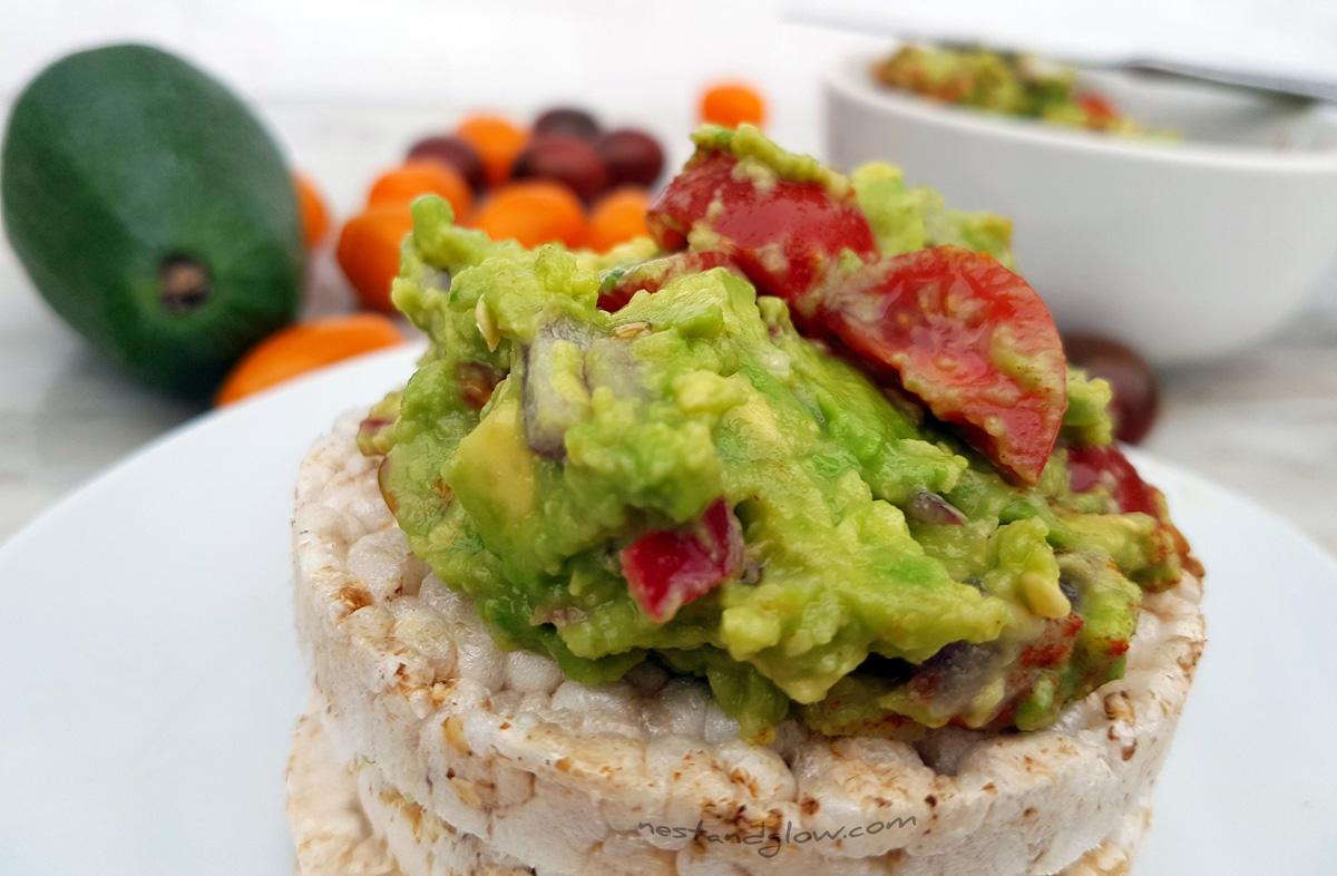 Greatest Guacamole Recipe - Lime, Tomatoes, Chilli & Red ...