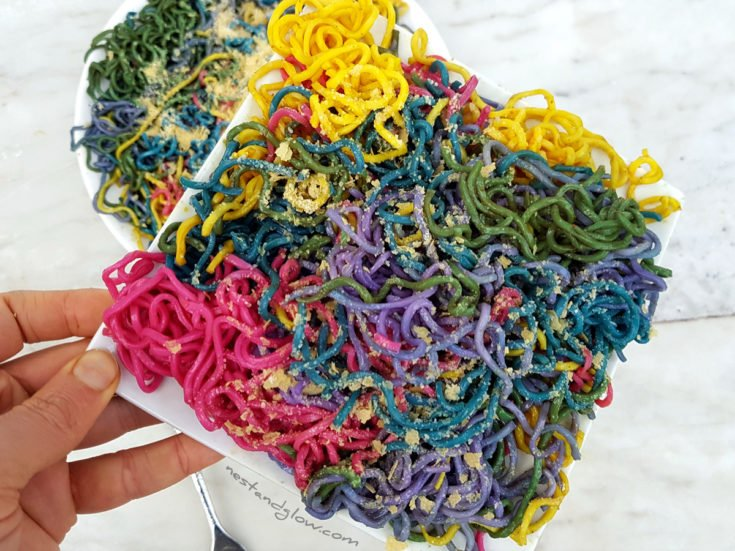 Natural Rainbow Pasta Noodles
