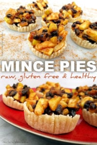 Easy Vegan Raw Mince pies that are yummy