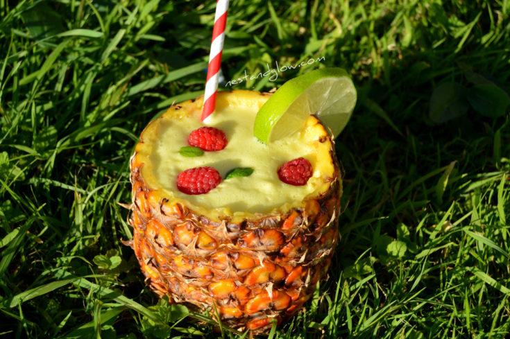 Sour Pina Colada Cocktail