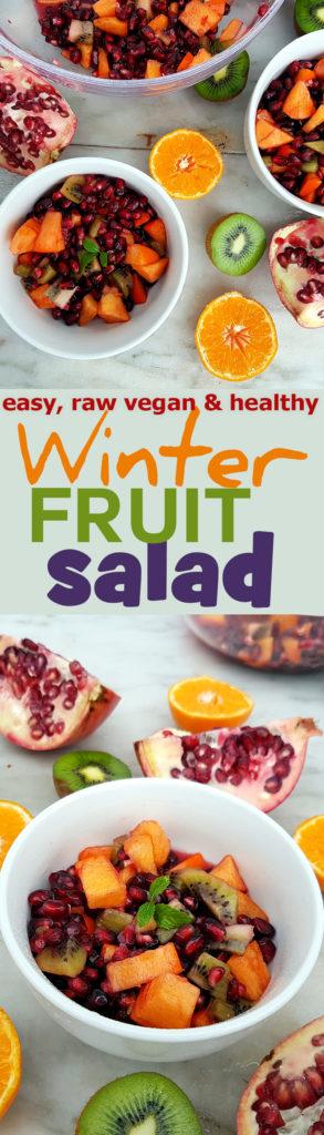 Easy recipe for Winter Fruit Salad
