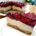 Blackcurrant Cashew Vegan Cheesecake Dreamcake