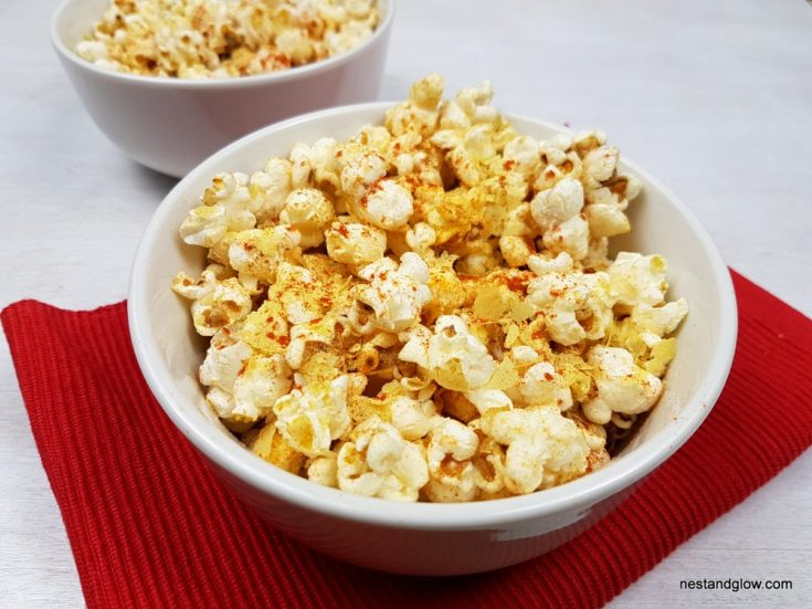 Cheesy Vegan Popcorn