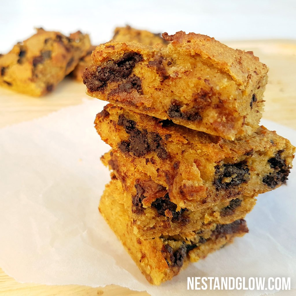 chickpea blondies recipe no peanut butter