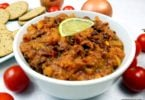 Easy healthy kidney bean dip