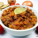 Spicy Kidney Bean Tomato Dip