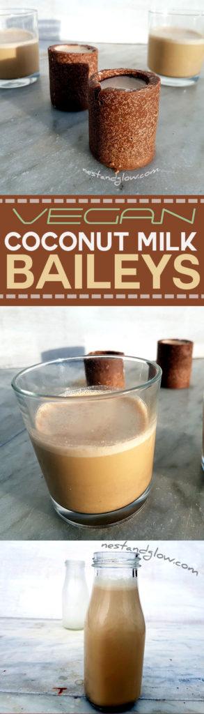 Baileys coconut milk recipe - vegan and dairy free