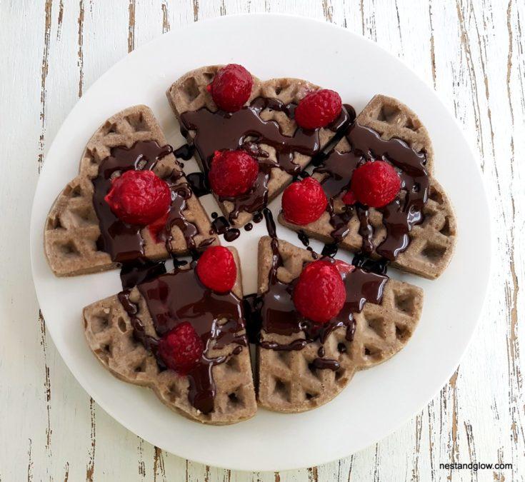 Buckwheat Waffles - Gluten Free and Vegan