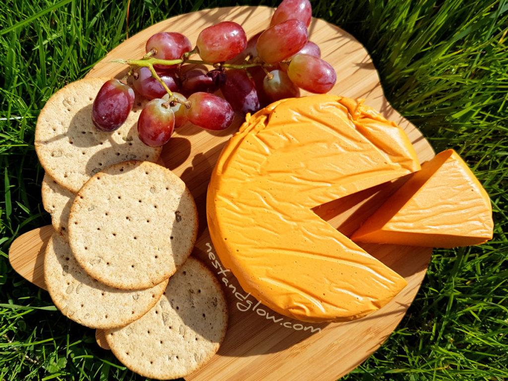 Smoked Cashew Vegan Cheese Platter