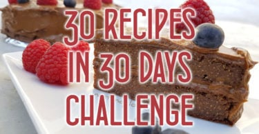 30 recipes in 30 days challenge