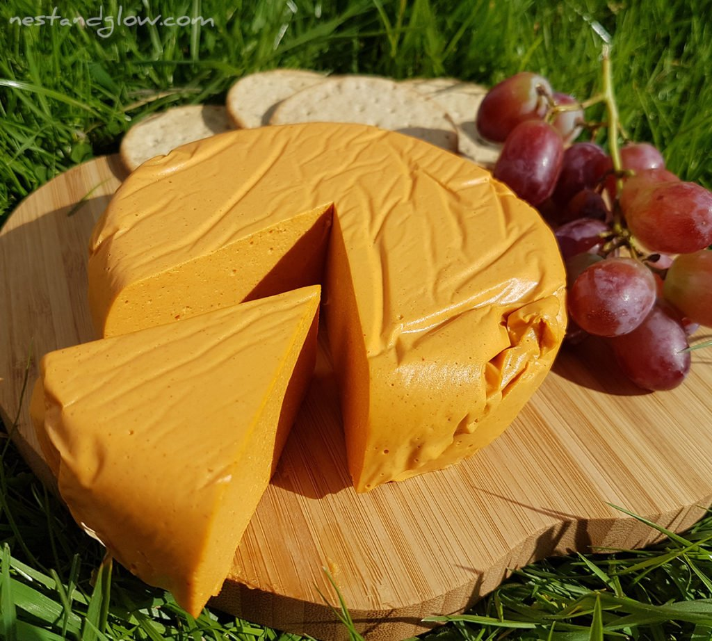 firm easy vegan cheese recipe made from cashew nuts
