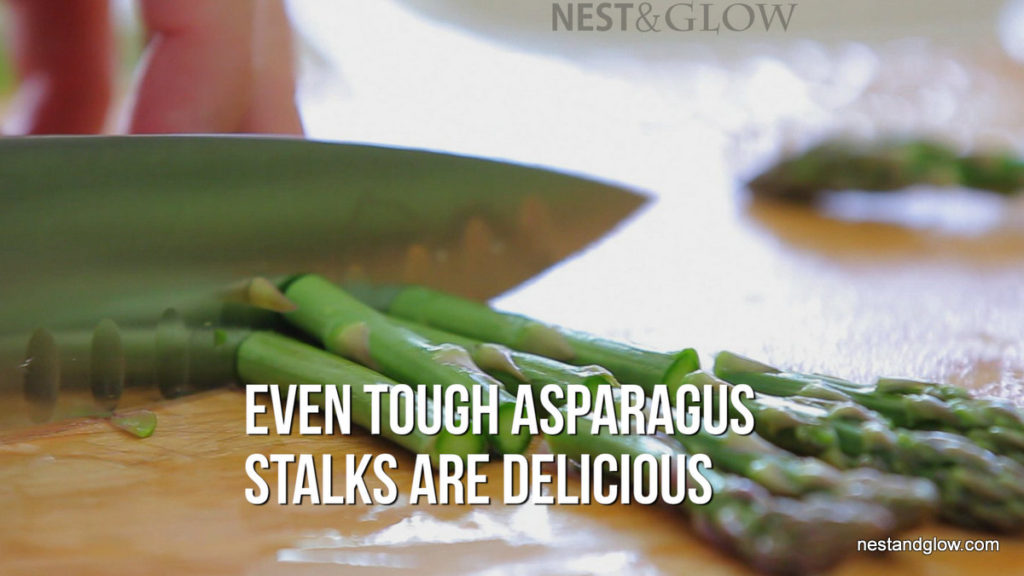 Eat Asparagus Stems