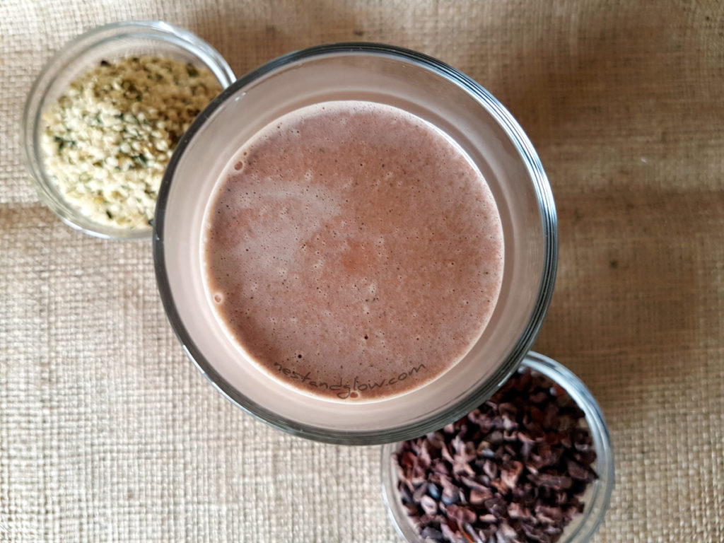 Hemp Seed Cacao Chocolate Milk nut and dairy free
