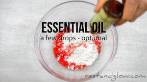 essential oil dough