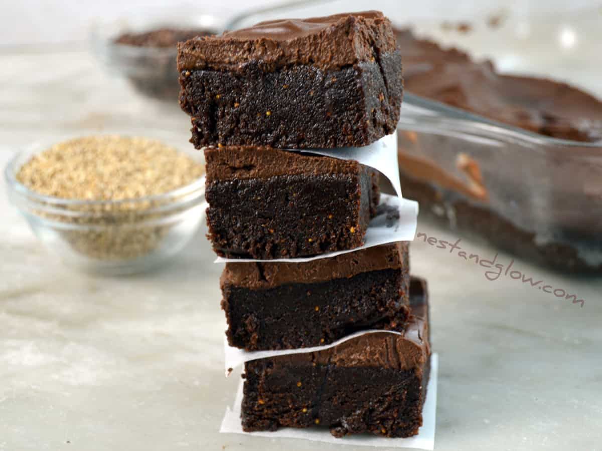 Calcium Chocolate Vegan Fudge Recipe