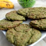 Green Pea Sweet and Salty Cookies
